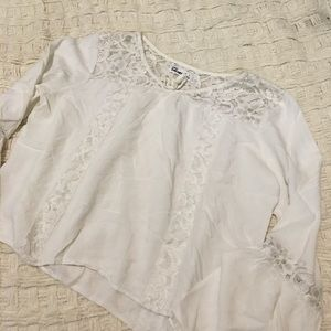Epic threads lace Top Nordstrom